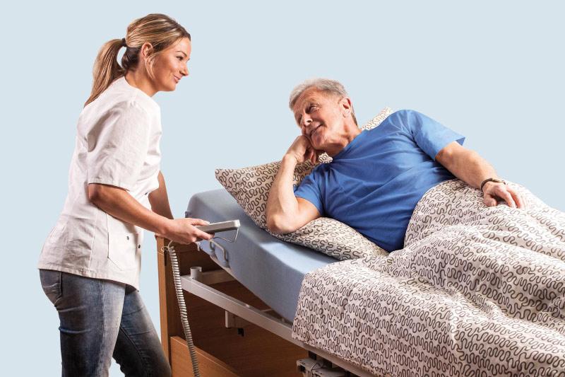 Pflegebett mieten