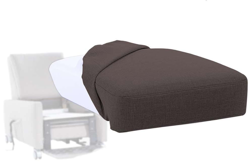 Pflegesessel Sitzkissen ist herausnehmbar, der Bezug abnehmbar